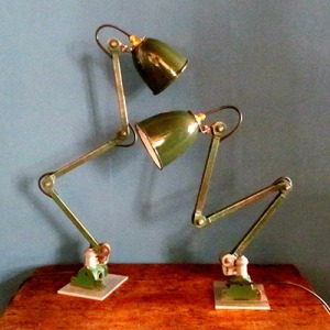 L005 Pair of Anglepoise Lights