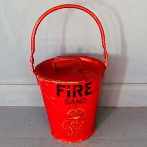 E016 GR Fire Bucket with lid