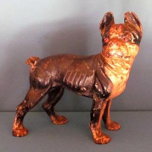 E017 Cast Iron Boston Terrier