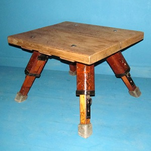 T004 Upcycled Buck Legged Coffee Table