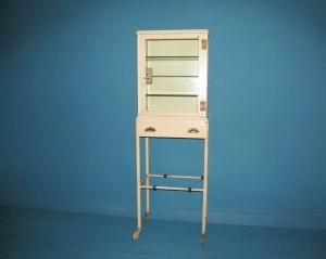 CD001 Metal Medical Cabinet Trolley