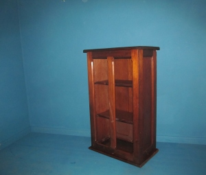 SS004 Oak Hymn Book Storage