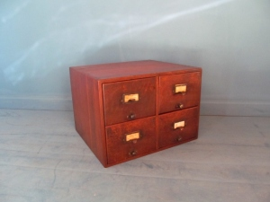 CD013 Oak Filing Drawers