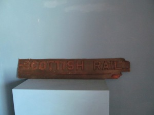 S047 Scottish Rail - Cast Letters