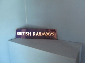 S046 British Rail Blue Enamel Sign