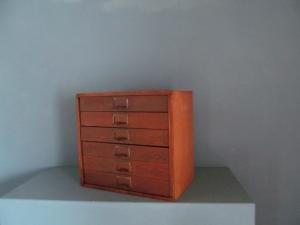 CD014 Pitch Pine Filing Drawers