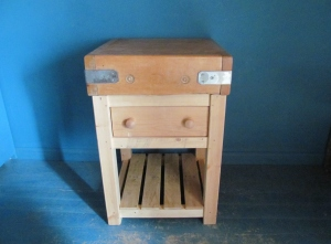 T016 Butcher's Block Double Side Drawer