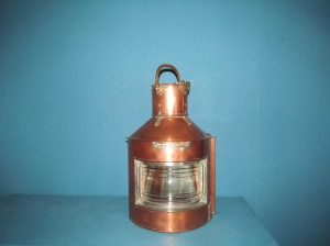 L016 Brass Ship Lamp