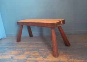 C029 Oak Pig Bench