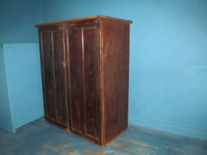 CD029 Old Bakery Cupboard Lift Up Lid